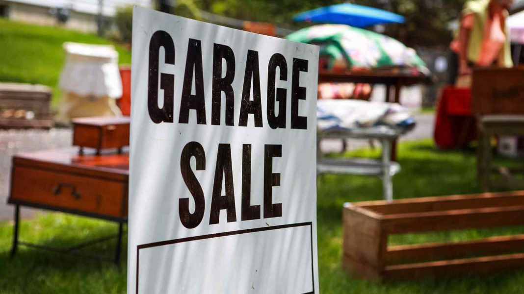 Garage Sale Time!