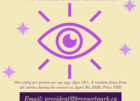 Eye Spy Contest For 16+ Deadline Is Today