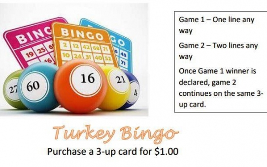 Turkey Bingo!